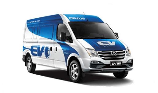 Maxus EV80-chassis