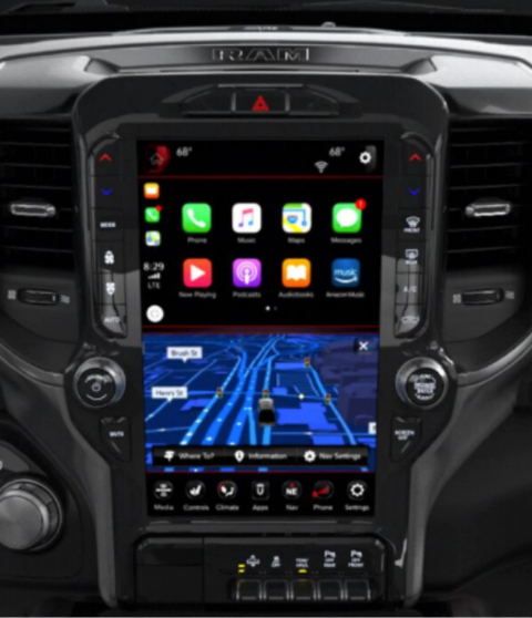 Command Central Dodge RAM